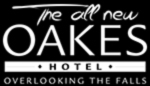 Oakes Hotel Overlooking The Falls Logo