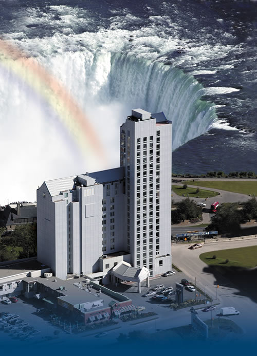 Oakes Hotel Overlooking The Falls